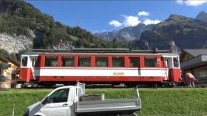 Embedded thumbnail for  Die Rückkehr des Triebwagens Nr. 6 nach Elm