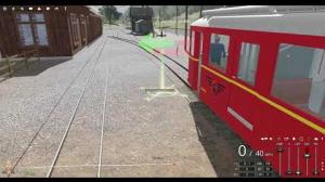 Embedded thumbnail for Virtuelle Sernftalbahn, Überflug von Schwanden nach Matt